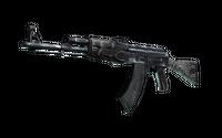AK-47 | Black Laminate (Well-Worn)