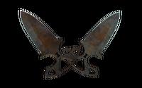 ★ Shadow Daggers   Rust Coat (Battle-Scarred)
