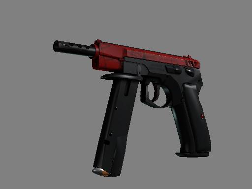 CZ75-Auto | Crimson Web (Minimal Wear)