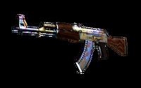 AK-47 | Case Hardened (Well-Worn)