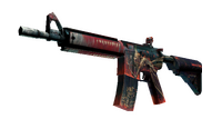 StatTrak™ M4A4   Tooth Fairy (Factory New)