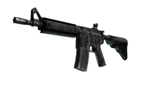 StatTrak™ M4A4 | Faded Zebra (Well-Worn)