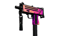 MAC-10 | Disco Tech (Well-Worn)