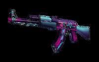 AK-47 | Neon Rider (Well-Worn)