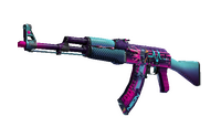 AK-47 | Neon Rider (Well-Worn)