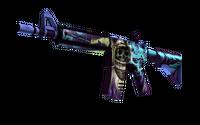 StatTrak™ M4A4   Desolate Space (Well-Worn)