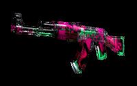 AK-47   Neon Revolution (Well-Worn)