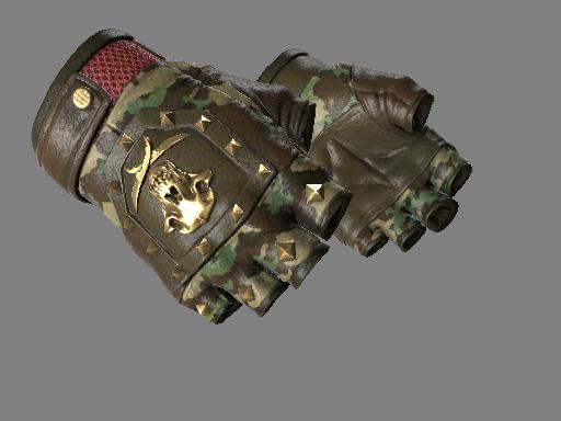 ★ Bloodhound Gloves   Guerrilla (Minimal Wear)