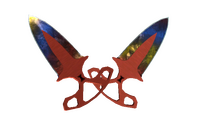 ★ Shadow Daggers | Marble Fade (Factory New)
