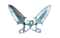 ★ StatTrak™ Shadow Daggers | Damascus Steel (Field-Tested)
