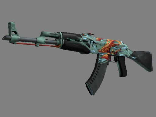 AK-47   Aquamarine Revenge (Well-Worn)