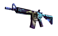 M4A4 | Desolate Space (Minimal Wear)
