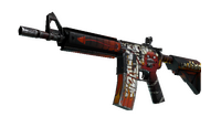 StatTrak™ M4A4 | Hellfire (Field-Tested)