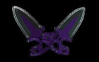 ★ Shadow Daggers | Ultraviolet (Well-Worn)