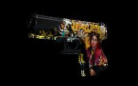 StatTrak™ Glock-18 | Bullet Queen (Battle-Scarred)