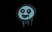 Sealed Graffiti | Goofy (Wire Blue)
