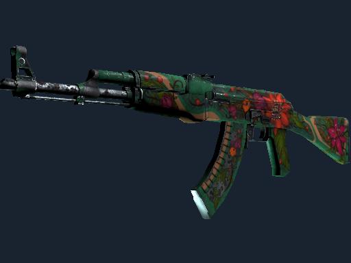 AK-47   Wild Lotus (Battle-Scarred)