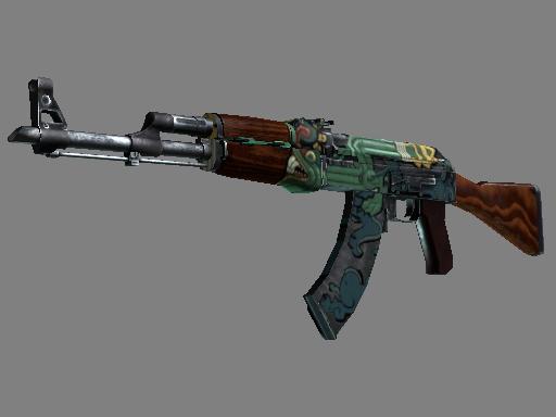AK-47 | Fire Serpent (Well-Worn)