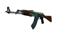 AK-47 | Fire Serpent (Well-Worn)