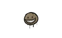 Sealed Graffiti   Mr. Teeth (Dust Brown)
