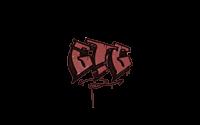 Sealed Graffiti   GTG (Blood Red)