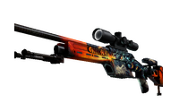 StatTrak™ SSG 08   Dragonfire (Factory New)