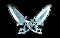 ★ Shadow Daggers   Damascus Steel (Minimal Wear)