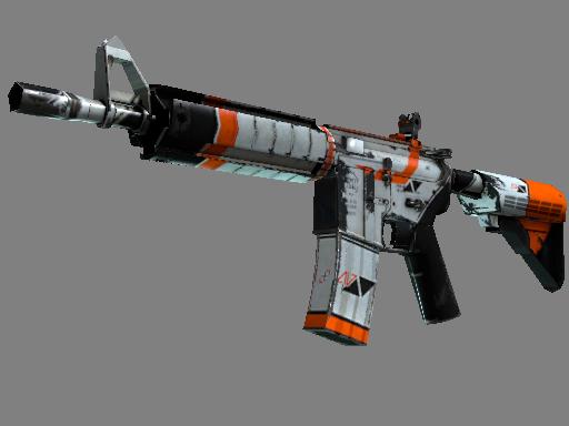 StatTrak™ M4A4 | Asiimov (Battle-Scarred)