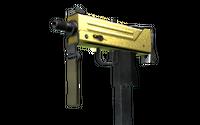 MAC-10   Gold Brick (Minimal Wear)