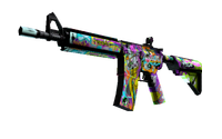 M4A4 | In Living Color (Factory New)