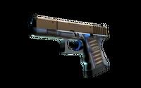 StatTrak™ Glock-18 | Clear Polymer (Minimal Wear)