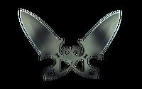 ★ StatTrak™ Shadow Daggers | Scorched (Minimal Wear)