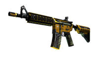 StatTrak™ M4A4   Buzz Kill (Well-Worn)