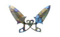 ★ Shadow Daggers | Case Hardened (Well-Worn)