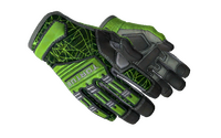 ★ Specialist Gloves | Emerald Web (Minimal Wear)