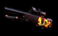 StatTrak™ AWP   Wildfire (Factory New)