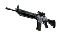 SG 553 | Damascus Steel (Field-Tested)