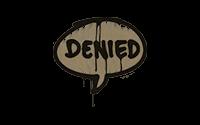 Sealed Graffiti | Denied (Dust Brown)