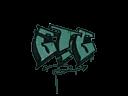Sealed Graffiti   GTG (Frog Green)