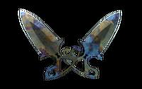 ★ Shadow Daggers | Case Hardened (Battle-Scarred)
