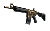 StatTrak™ M4A4 | Royal Paladin (Well-Worn)