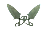 ★ Shadow Daggers | Safari Mesh (Well-Worn)