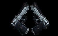 StatTrak™ Dual Berettas | Dezastre (Minimal Wear)