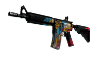 M4A4 | Cyber Security (Battle-Scarred)