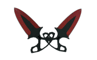 ★ StatTrak™ Shadow Daggers | Crimson Web (Field-Tested)