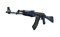 StatTrak™ AK-47   Blue Laminate (Factory New)