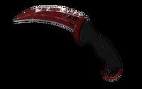 ★ Talon Knife | Crimson Web (Well-Worn)
