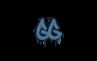 Sealed Graffiti   GGEZ (Monarch Blue)