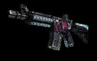 StatTrak™ M4A4 | Neo-Noir (Well-Worn)