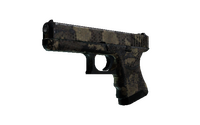 Glock-18 | Death Rattle (Battle-Scarred)